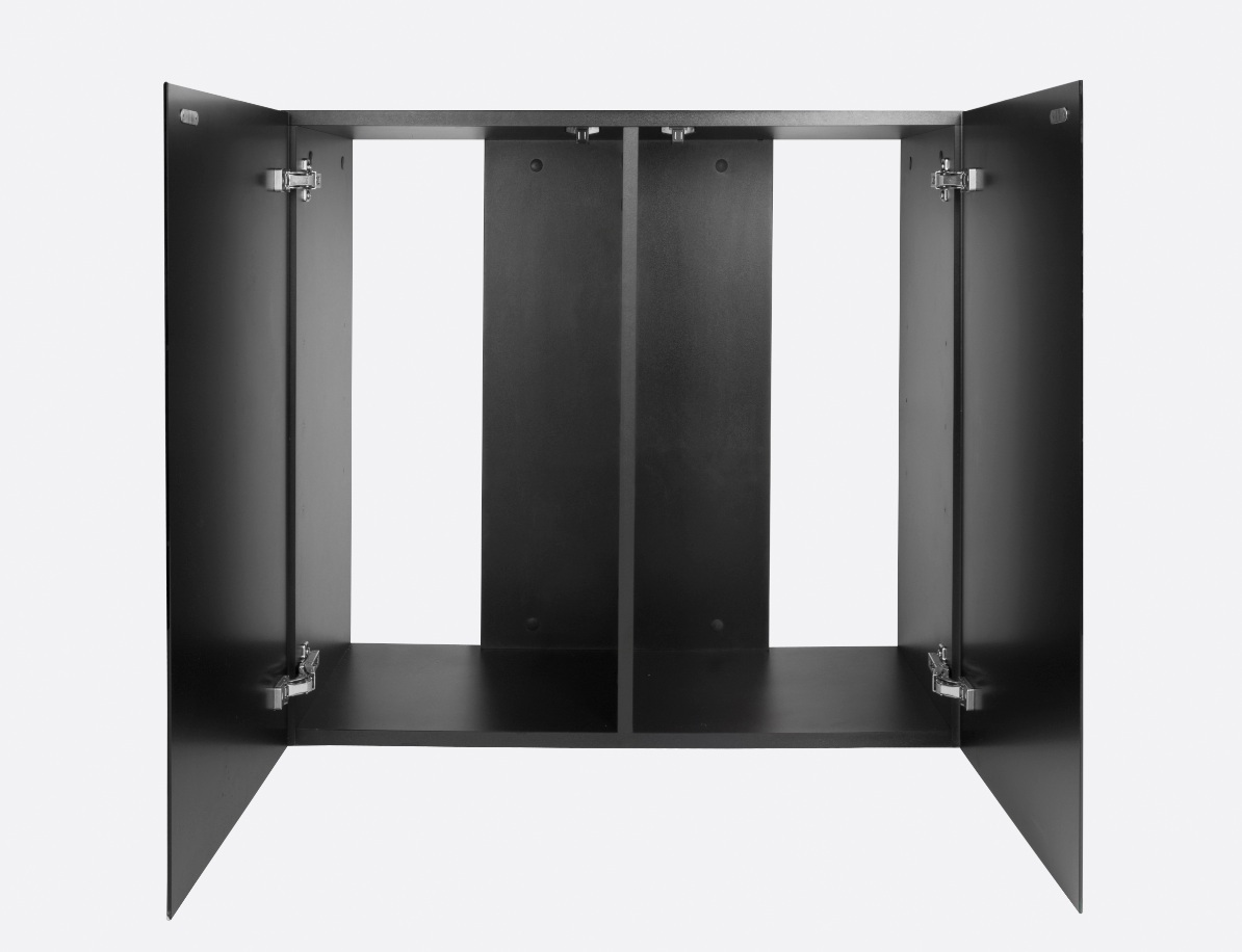 aquael glossy unterschrank 80 schwarz garnelaxia onlineshop aquascaping zwerggarnelen. Black Bedroom Furniture Sets. Home Design Ideas