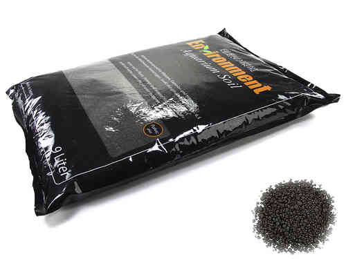 GlasGarten Enviroment Aquarium Soil - 9 Liter